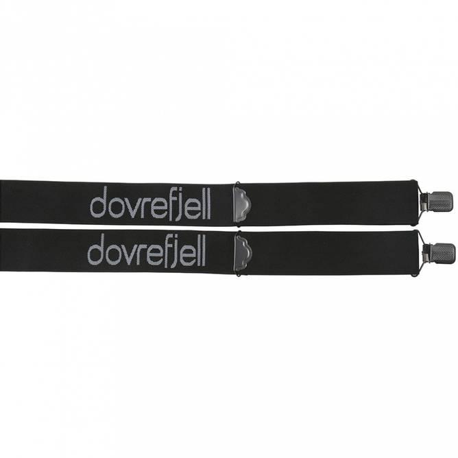 Bilde av Dovrefjell Classic bukseseler med klyper, sort