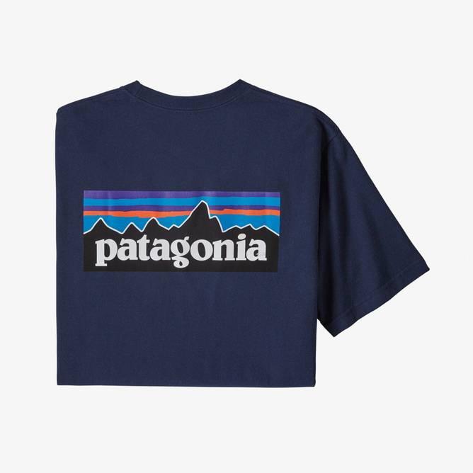 Bilde av Patagonia P-6 Logo Responsibili-Tee Classic Navy