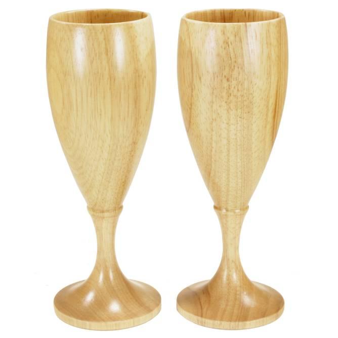 Bilde av Vin/Champagneglass på stett, 2 stk.