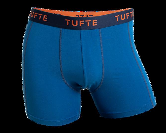 Bilde av Tufte Mens Boxer Briefs Snokel Blue/Insignia