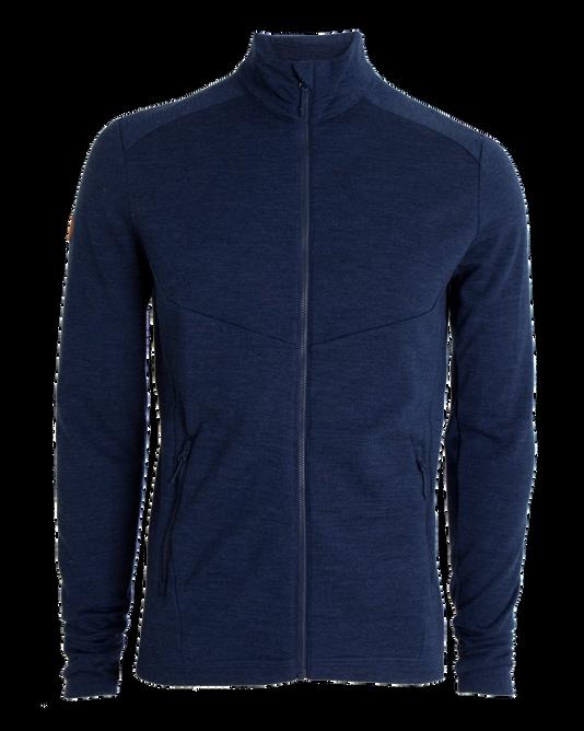 Bilde av Tufte Wool Fleece Jacket Dress Blues Melange
